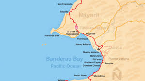 Punta Mita Mexico Map by Yelapa Beach Vallarta Lifestyles