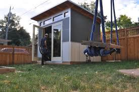 Backyard Office Prefab by Prefab Modern Sheds And Backyard Studios Studio Shed Media Magazine