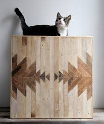 geometric wood wall geometric wood panels to decorate your walls by ariele digsdigs