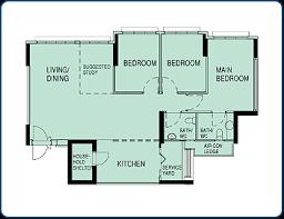 Parkview Floor Plan March 2014 Bto Anchorvale Parkview Sengkang Sg Housing Blog