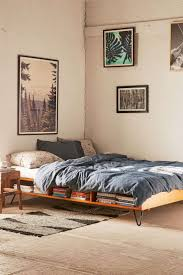 headboard with bed frame with no frame box spring or headboard on floor movement