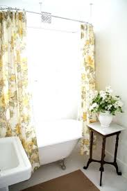 Claw Foot Tub Shower Curtains Showers The Claw Foot Tub Shower Curtain I Love T He Double