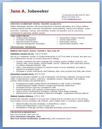 teaching resume template resume sles musiccityspiritsandcocktail
