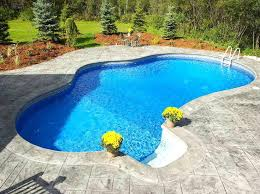 Swimming Pool Ideas For Small Backyards Small Backyard Inground Pool Design Small Backyard Inground Pools