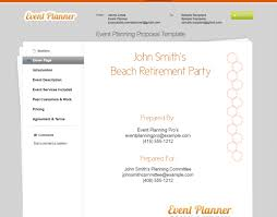 Sample Event Planner Resume by Best Photos Of Planning Proposal Sample Event Planning Proposal