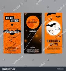 party brochure design vector flyer moon stock vector 729628645