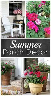 Patriotic Home Decor Summer Porch Decorating Ideas House Of Hawthornes