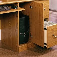 orchard hills computer desk with hutch 401354 sauder