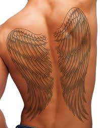 neck wing tattoos temporary tattoo full back wings