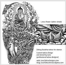 Buddhist Flower Tattoo - lotus flower tattoos u0026 meaning tattoo samples