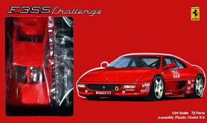 f355 challenge fujimi f355 challenge model kit