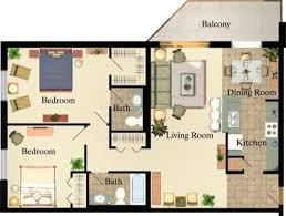 Floor Plan Of An Apartment Apartments In London Ontario 565 Proudfoot Place Luxury Apartments