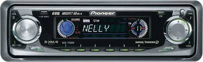 pioneer deh p3600 cd receiver with cd changer controls at