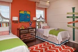 Decor With Accent Beach Theme Bedroom Kids Contemporary With Accent Wall Beach Bed