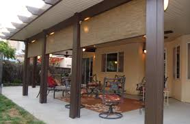 Metal Patio Covers Cost Roof Beautiful Ideas Alumawood Patio Kits Zayszly Screen