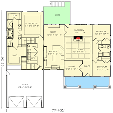 Floor Plan With 4 Bedrooms by 4 Bed Northwest House Plan With Bonus Room 77619fb