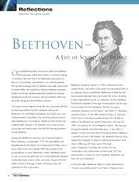 Was Beethoven Blind And Deaf The Deafness Of Beethoven A Paradigm Of Hearing Problems Pdf