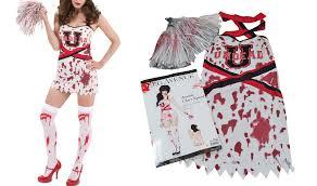 Zombie Cheerleader Costume Zombie Cheerleader Costume S M L Zombie Cheerleader Costume