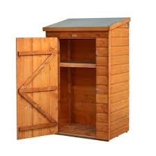 bosmere mini store 3 ft x 2 ft wood storage shed a049 the home