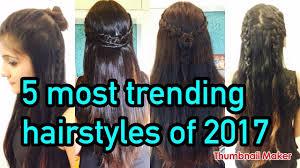 easy n cute braided hairstyles for long medium short hair youtube