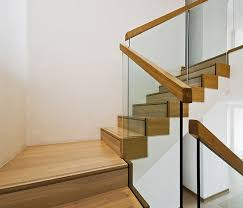 wood and glass stairs google search house living room