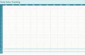 Free Excel Sales Tracking Template Sales Tracking Template 5 Printable Spreadsheets