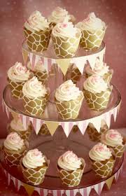giraffe baby shower ideas pink giraffe baby shower dessert table giraffe cupcake wrappers