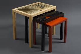 lorraine u0027s nesting side tables solid wood side tables seth rolland