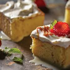tres leches with dulce de leches recipe from heb