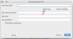 create apk how to generate signed apk in android studio for publishing
