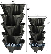 Verticle Gardening by Diy Stackable Planter