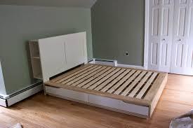 headboard bed frame ikea home beds decoration