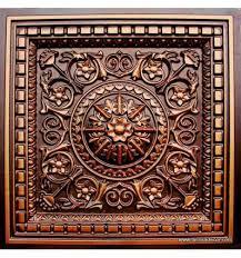 Talissa Decor 215 Faux Tin Ceiling Tile Coffered Talissa Decor