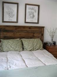Reclaimed Wood Bed Frames Bed Frame Look Queen Headboard Ana Diy Rustic Bed Frame White