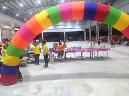 Balloon Decoration Johor Bahru 气球圆门装饰 Balloon Decoration 彩虹圆门rainbow Decoration 其他