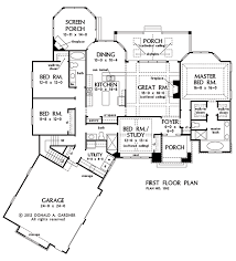 Home Design Story Expand First Floor Plan Of The Bluestone House Plan Number 1302 This