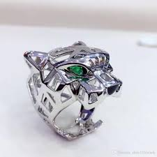 cool jewelry rings images 2018 top sell cool animal designs panther ring men women leopard jpg