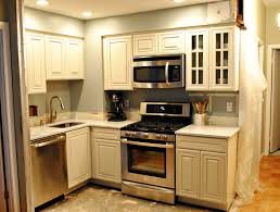backsplash for small kitchen blue island color ideas cabinet country colors for small