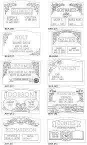 design a headstone slanted headstone designs for cemetery headstones and memorials