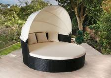 Outdoor Furniture Daybed Rattan Day Bed Garden U0026 Patio Furniture Ebay