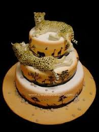 cheetah rock birthday cake this i might be able to do layla