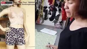 HÆ°á ›ng dẠn thiết kế quần short ná ¯ tại Thá i Trang Thuá ·