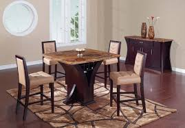 Global Furniture Dining Room Sets Global Furniture Usa 800 Bar Table Set Wenge Stone Tan Marble