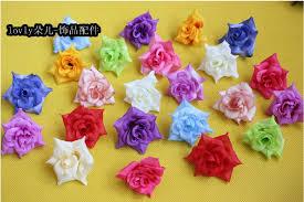 flowers in bulk 19 colors bulk silk artificial flowers heads made