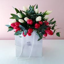 Natural Scent Bouquet Tulip Lover Natural Scent Flowers