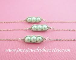 3 peas in a pod jewelry three peas in a pod etsy