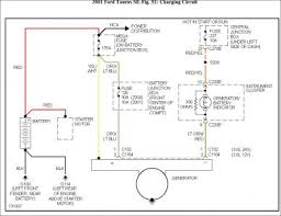 2001 ford taurus wiring diagram alternator pinterest taurus