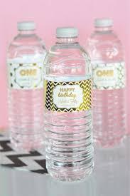 1st birthday water bottle labels first birthday water bottle