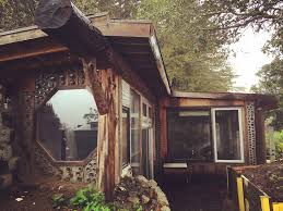Cost To Build A Cottage by Earthship Cabin In California