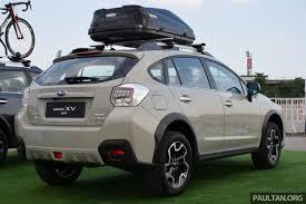 subaru suv 2016 price 2016 subaru xv facelift launched in bangkok m u0027sian debut set for